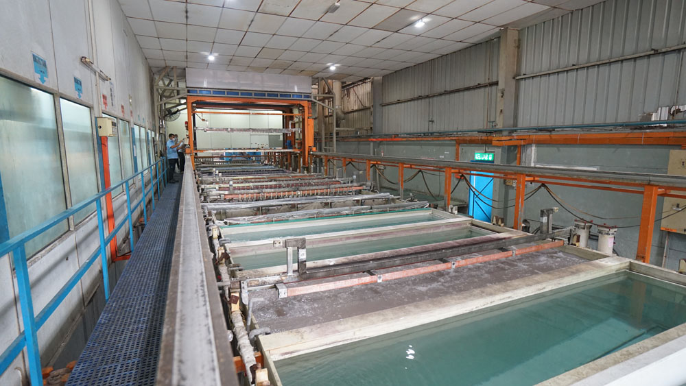 HT Press Anodizing Line